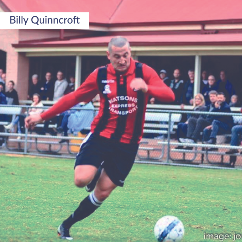 Billy Quinncroft Friday Five The Football Centre
