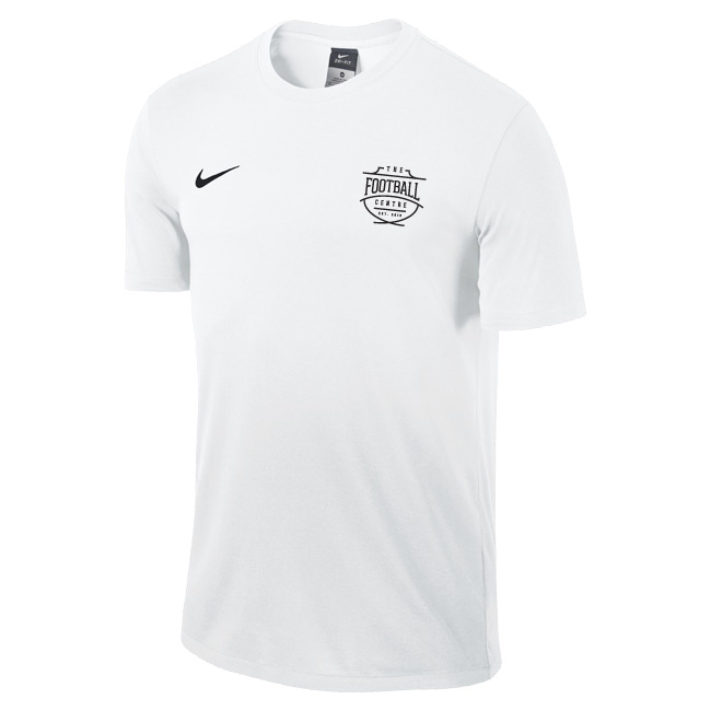 The Football Centre White Nike Shirt