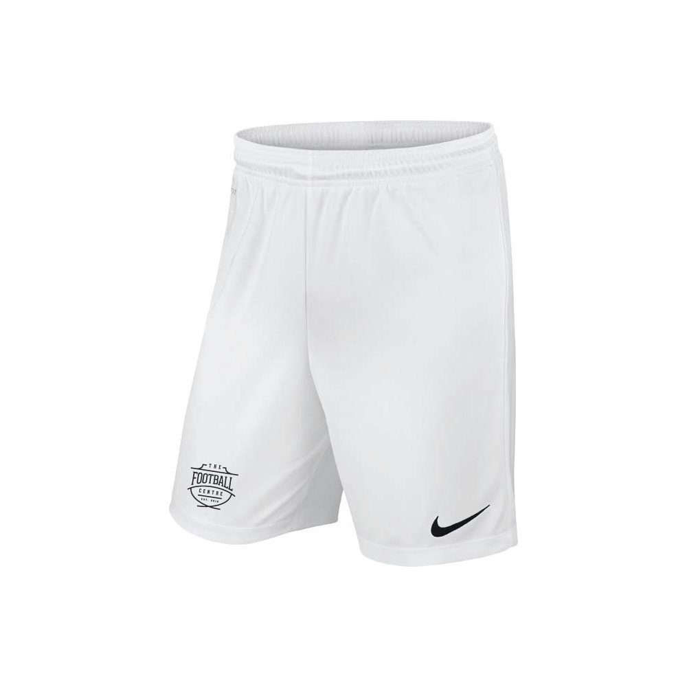 The Football Centre White Nike Shorts